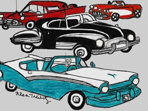 Classic Cars - Nesa's Art