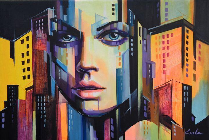 City face - galacreations
