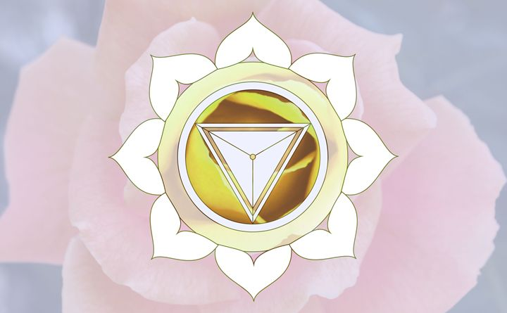 Gold Flower Mandala - Empty Cup Gallery