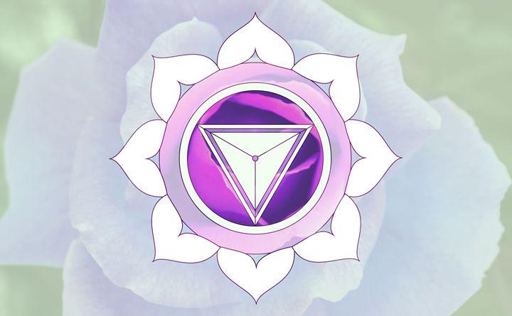 Purple Flower Power - Empty Cup Gallery