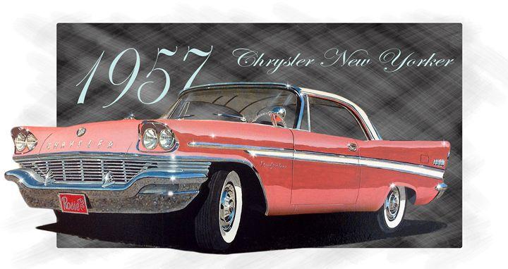 1957 chrysler New Yorker - RM Auto Art