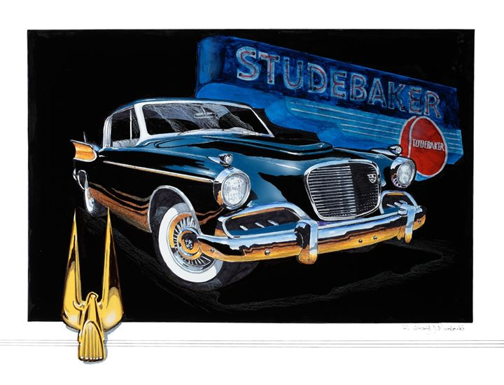 1957 Studebaker Golden Hawk - RM Auto Art