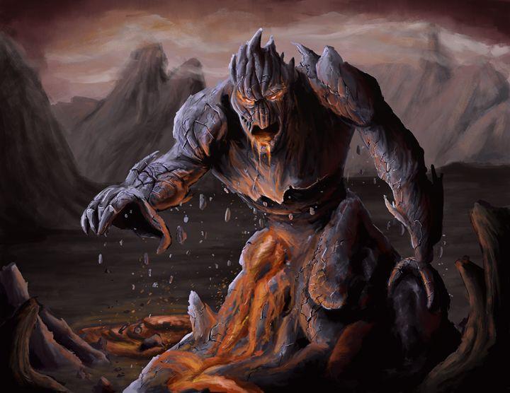 Lava Monster - Andrew Chambers