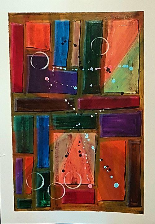 Colour maze - MBrown