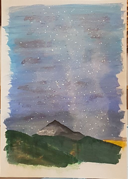 Teide with stars - MBrown