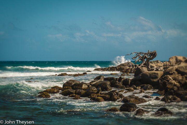 Waves and Rocks - Aruba Scenes