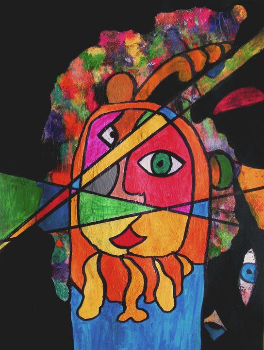 The Javelin Thrower - George Hunter Contemporary Artist