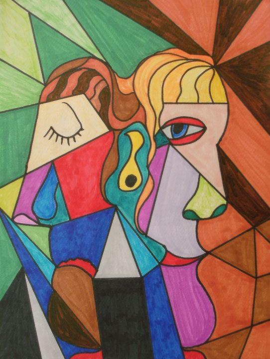 The Deceitful Partner - George Hunter Contemporary Artist