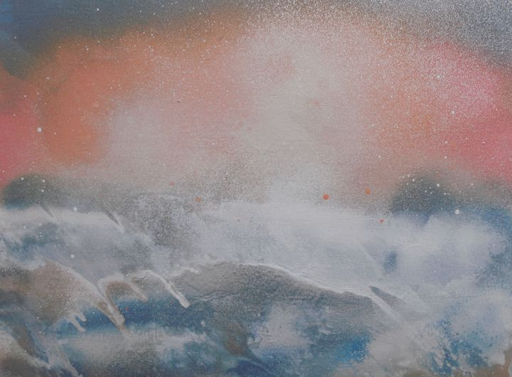 Sea Storm - George Hunter Contemporary Artist