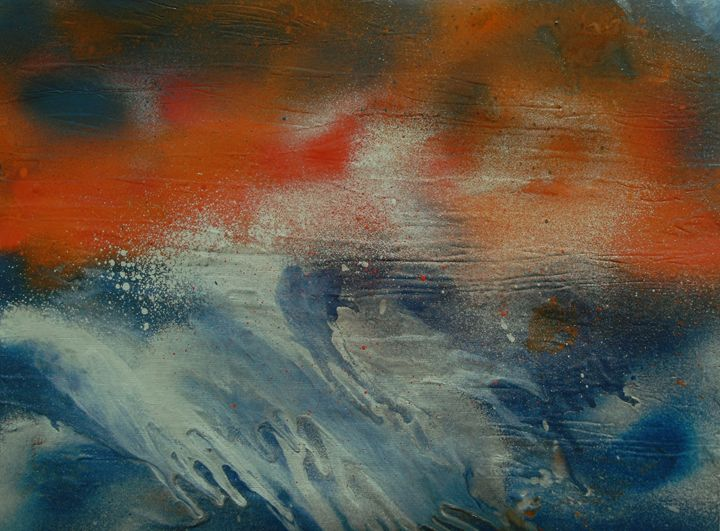 Ocean Storm - George Hunter Contemporary Artist