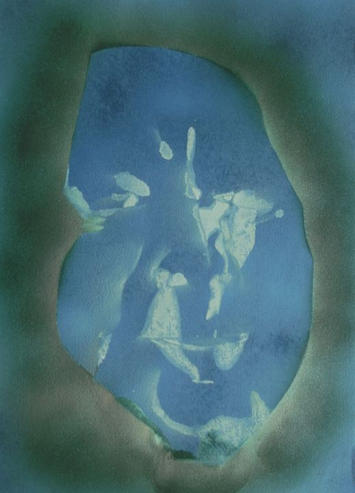 Disintergrating Memory - George Hunter Contemporary Artist