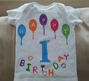babies/kids birthday tshirt - Shweta