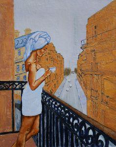 """""""Parisian balcony"""""""