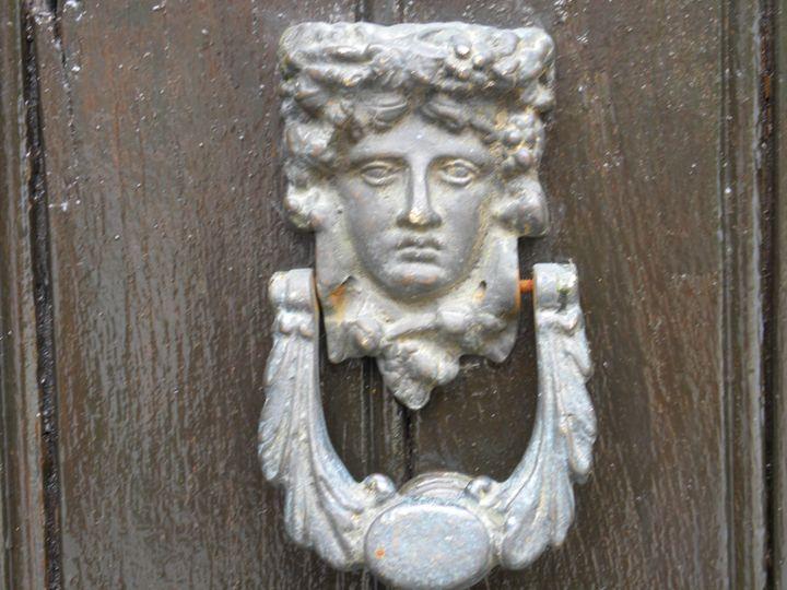 Door knocker - Crimson Inspirations by Sue E.