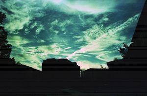 Teal sky