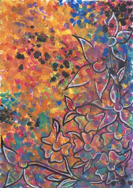 raining colour - F.K's Galleria Extravaganza
