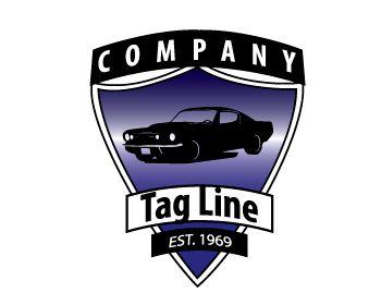 Auto Sheild Logo Design - Kim Souza Artist
