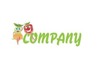 Flirty Fruits Logo Design - Kim Souza Artist
