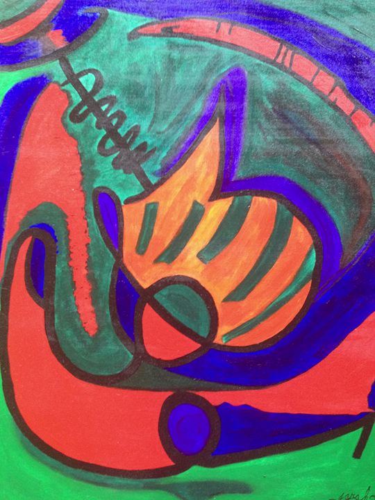 Vibrations - Art by Farah