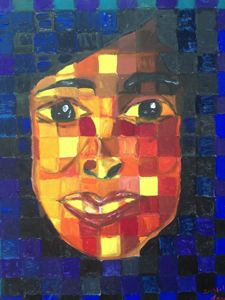 Woman in Cubism
