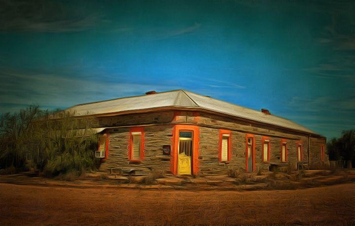 Deserted Hotel - Alan Carson