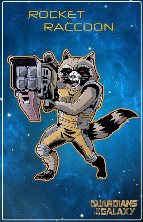 Rocket Raccoon - Steelhaven Studio