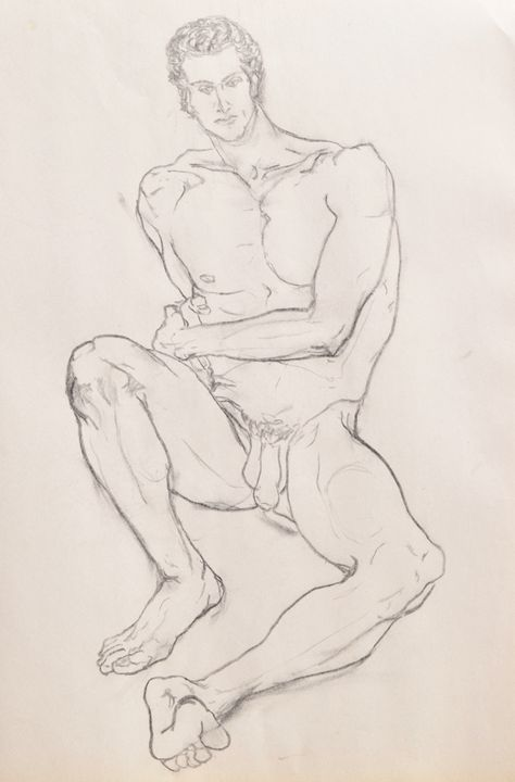Male Nude - Kevin Connolly