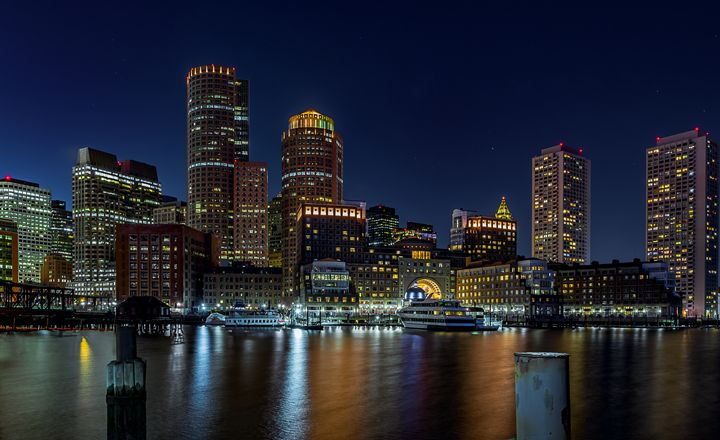 Boston Harbor from Fan Pier - M.G. Durant Photography