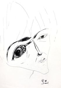 The look in her eyes