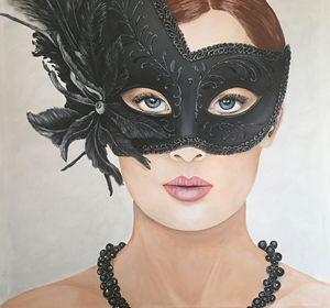Masked lady vain