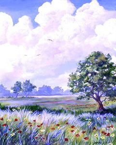Landscape in Blues