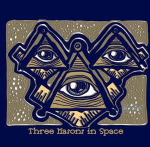 Three Masons in Space