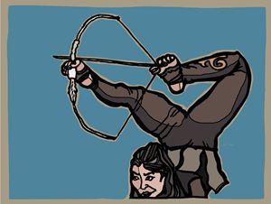 Central Asian Archer