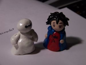 Big Hero 6 finger puppets