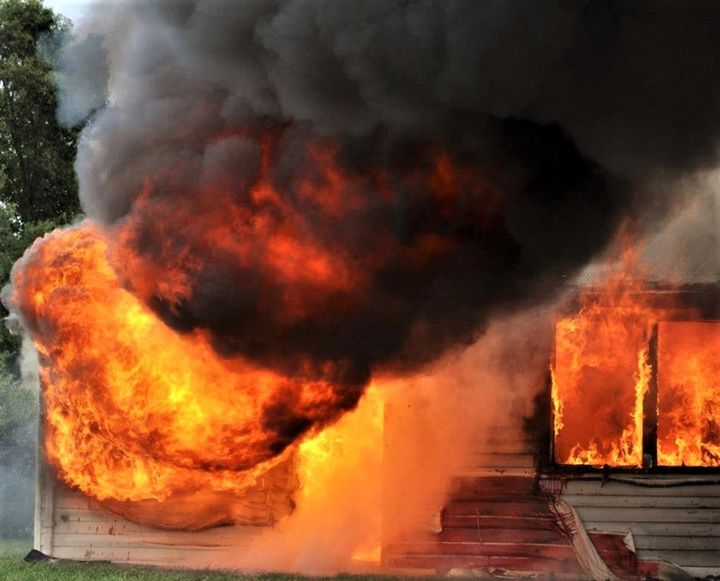 smoke and flames - SLPeders