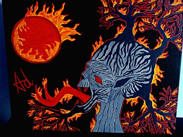 Catharsys Ov The Earth Through Fire - Demona Alexis Black Arts