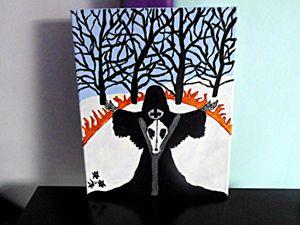 Black Magick Witch Priestess Ritual