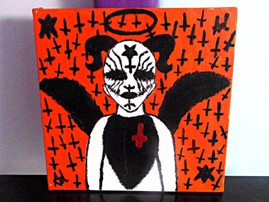 Black Soul Of The Fallen Nephilim Wa - Demona Alexis Black Arts