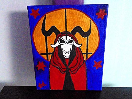Unholy Goat Priest - Demona Alexis Black Arts