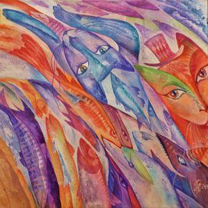 """""""Cat-dreams in Fish-streams"""""""