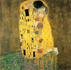 THE KISS- GUSTAVE KLIMT