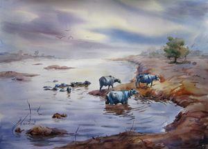 Ravi river Lahore