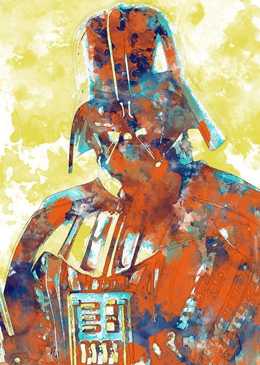Darth Vader - Nerdiful Art