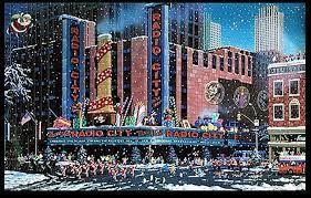 Santa comes to New York - Discounted Artwork