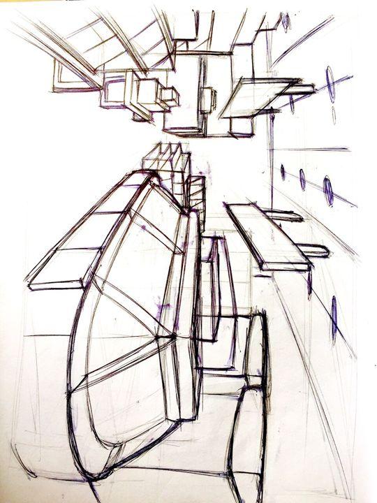 sketch of a shop - LUKE