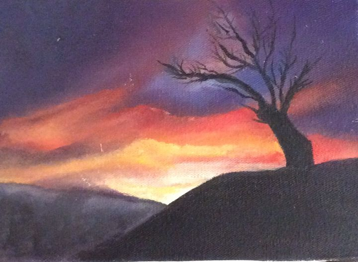 Sunset - Shahrzad art