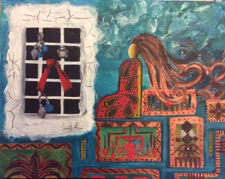 Prayer - Shahrzad art