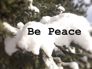 Be Peace - Zen Journey Photography