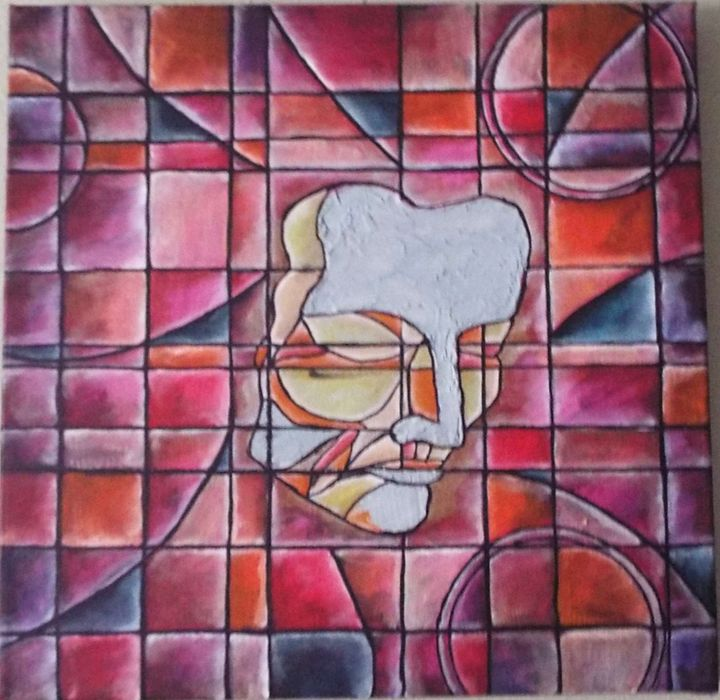 Drama Masks Sad - AbstractAnnessa