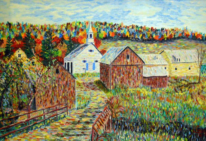 A Thought About Fall In Vermont - Robert Rombeiro